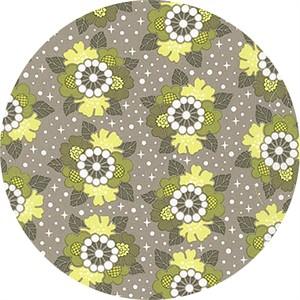 Elizabeth Hartman for Robert Kaufman, Rhoda Ruth, Flower Shine Nature