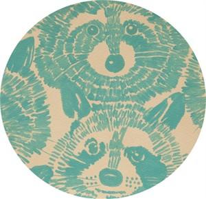 Alexander Henry, Rocky Raccoon Turquoise