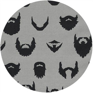 Robert Kaufman, Brilliant Beards Grey