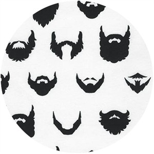 Robert Kaufman, Brilliant Beards White