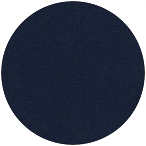 Robert Kaufman, Brussels Washer, Linen/Rayon Blend, Black