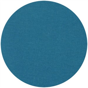 Robert Kaufman, Brussels Washer, Linen/Rayon Blend, Ocean
