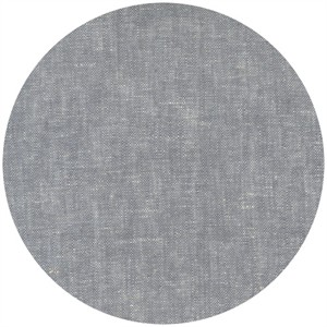 Robert Kaufman, Brussels Washer, Yarn Dyed, Linen/Rayon Blend, Grey
