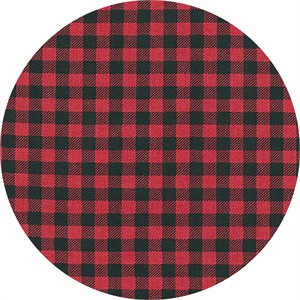 Robert Kaufman, Burly Beavers, Plaid Red