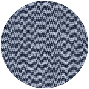 Robert Kaufman, Chambray Union, Large Herringbone Indigo
