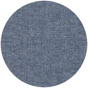 Robert Kaufman, Chambray Union, Small Herringbone Indigo