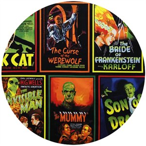 Robert Kaufman, Classic Horror Films, Monster Movies Spooky (23 Inch Panel)