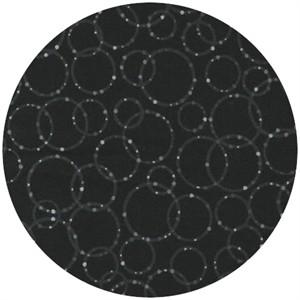 Robert Kaufman, Dazzle, Rings Black