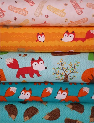 Robert Kaufman, Forest Playground in FAT QUARTERS 5 Total