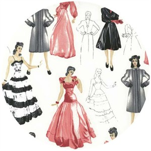 Robert Kaufman, Glamour Girls, Fashion Plates Blush
