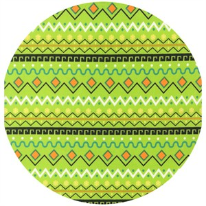 Robert Kaufman, It's A Kid's World, My Tribe Stripe Lime