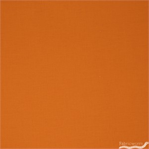 Robert Kaufman Kona Cotton Solids Orange