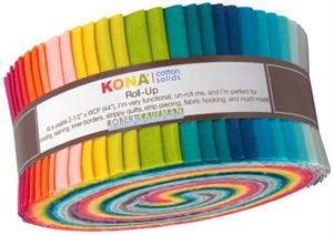 Robert Kaufman, Kona Roll-Ups Elizabeth Hartman Designer Palette