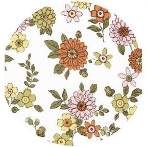 Robert Kaufman, Lennox Gardens, COTTON LAWN, Small Blooms White