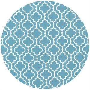 Robert Kaufman, Metro Living, Lattice Dusty Blue