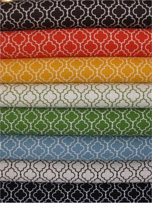 Robert Kaufman, Metro Living, Lattice Sampler in FAT QUARTERS, 7 Total