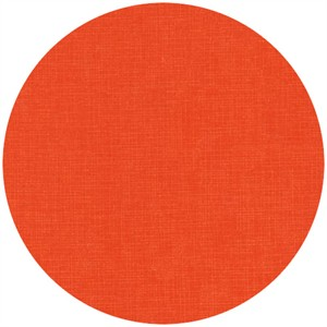 Robert Kaufman Quilter's Linen Orange