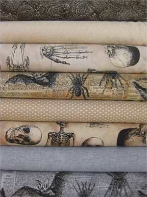 Robert Kaufman, Sleepy Hollow in FAT QUARTERS 8 Total