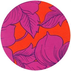 Robert Kaufman, Surf  N� Sand Tropicals, Floral Tangerine