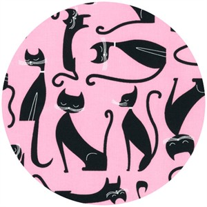 Robert Kaufman, Whiskers & Tails, Cats Pink