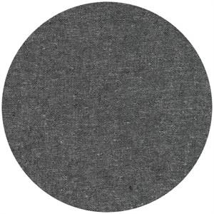 Robert Kaufman, Yarn-Dyed Essex, LINEN, Charcoal