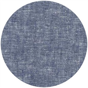 Robert Kaufman, Yarn-Dyed Essex, LINEN, Denim