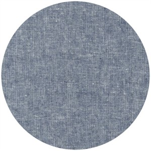 Robert Kaufman, Yarn-Dyed Essex, LINEN, Indigo