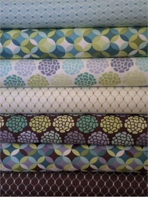 Rosemarie Lavin, Breeze Sampler in FAT QUARTERS 7 Total
