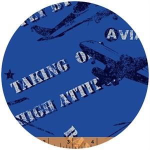 Rosemarie Lavin, Flyboy, Aviator Ultramarine Blue