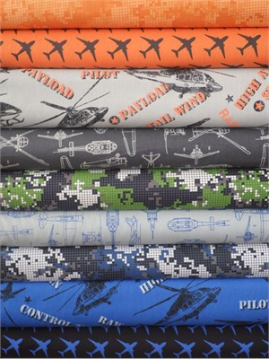 Rosemarie Lavin, Flyboy, Entire Collection in FAT QUARTERS 9 Total