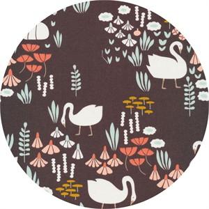 Elizabeth Olwen for Cloud9, ORGANIC, Park Life, Royal Swans Brown