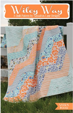 Sassafras Lane Designs, Wiley Way Quilt Pattern