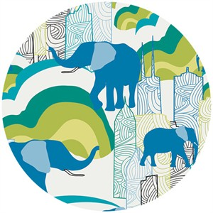 Sara Lawson for Art Gallery, Jungle Ave., Elephant Skyline