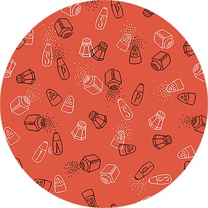 Ink & Arrow, Whip It Up, Salt & Pepper Shakers Orange