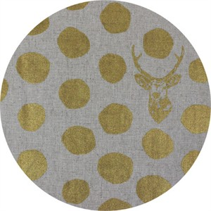 Echino, CANVAS METALLIC, Sambar Natural/Gold