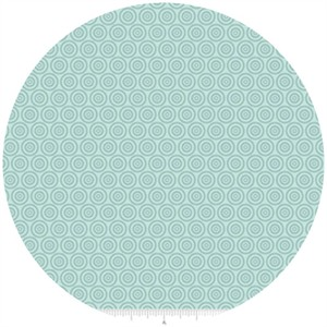 Samantha Walker for Riley Blake, Fly Aweigh, Circles Aqua
