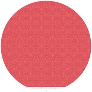 Samantha Walker for Riley Blake, Fly Aweigh, Circles Red