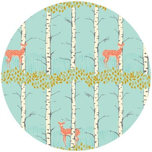 Sarah Watts, TImber & Leaf, Fawn Birch Blue