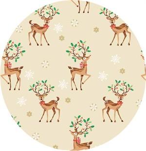 Makower UK, Traditional Christmas, Scatter Reindeer