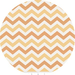 Riley Blake, School Days, Chevron Yellow
