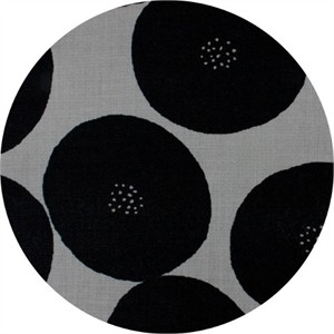 Japanese Import, CANVAS, Seeded Dots Black
