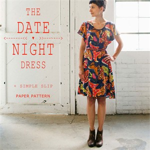 Sewing Pattern, April Rhodes, Date Night Dress