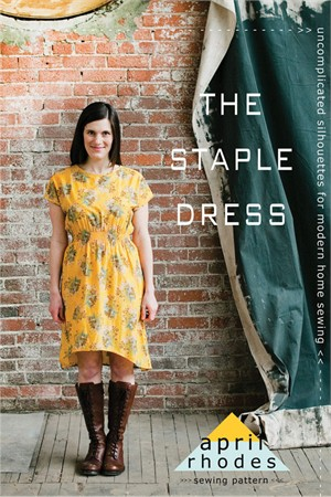 Sewing Pattern, April Rhodes, The Staple Dress