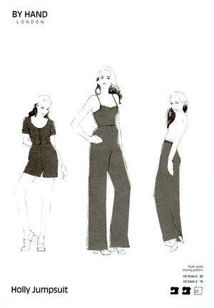 By Hand London, Sewing Pattern, Holly Jumpsuit