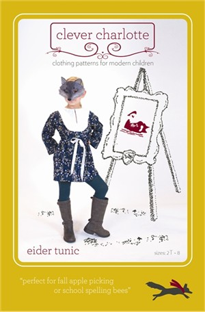 Sewing Patterns, Clever Charlotte, Eider Tunic