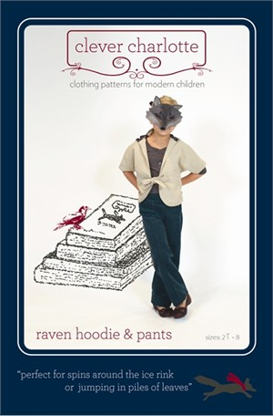 Sewing Patterns, Clever Charlotte, Raven Hoodie & Pants