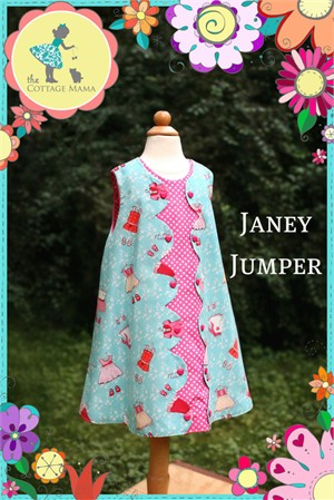 Sewing Patterns, The Cottage Mama, Janey Jumper