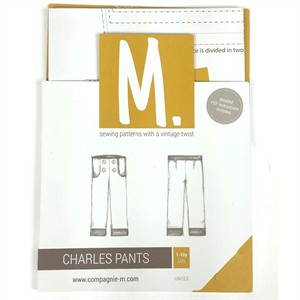 Sewing Pattern, Compagnie M, The Charles Pants