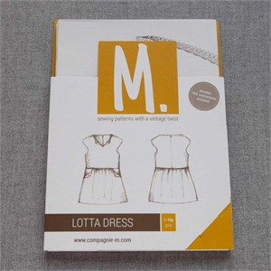 Sewing Pattern, Compagnie M, Lotta Dress