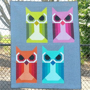 Sewing Pattern, Elizabeth Hartman, Allie Owl Quilt